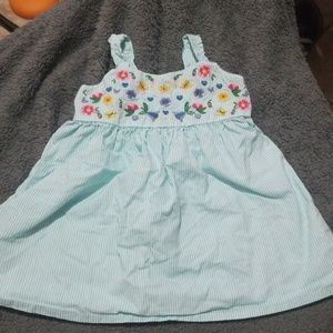 Summer Dress embroidered